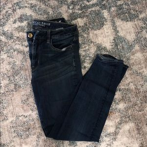 American Eagle size 8 High-rise jegging
